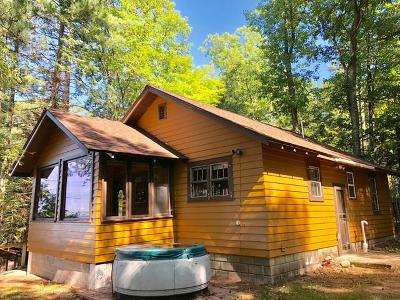 Minocqua Single Family Home For Sale: 12243 Carter Rd
