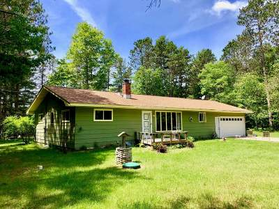 Minocqua Single Family Home For Sale: 8981 Koolish Rd
