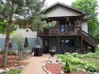 Forest County, Iron Wi County, Langlade County, Lincoln County, Oneida County, Vilas County Single Family Home For Sale: 1090 Charnley Lake Rd