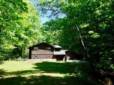 Eagle River WI Single Family Home For Sale: $239,500