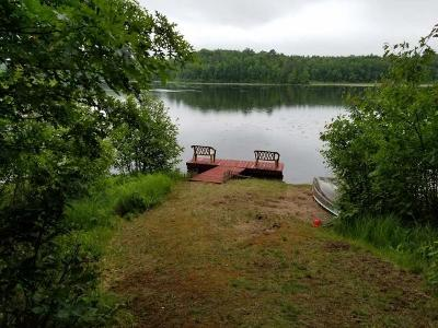 Forest County, Iron Wi County, Langlade County, Lincoln County, Oneida County, Vilas County Single Family Home For Sale: 4138 Goodyear Lake Rd