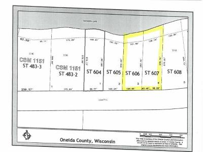 Residential Lots & Land For Sale: On Cth C #Lots 3&a