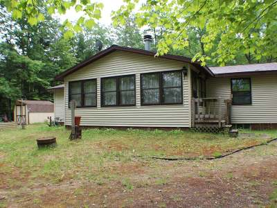 Lac Du Flambeau WI Single Family Home For Sale: $310,000