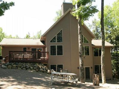Langlade County, Forest County, Oneida County Single Family Home For Sale: 9304 Bartz Bay Rd