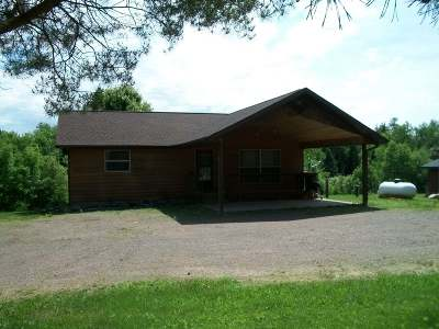 Fifield Single Family Home Active O/C: N14226 Divine Rapids Rd