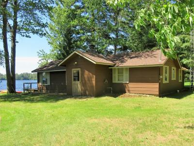 Langlade County, Forest County, Oneida County Single Family Home For Sale: 1305 Pine Isle Rd