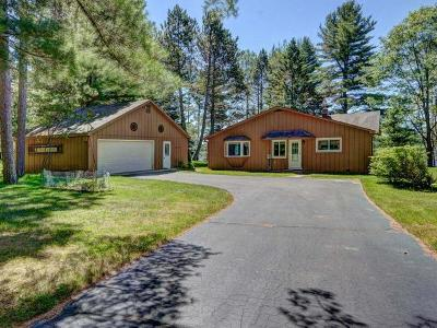 Eagle River WI Single Family Home For Sale: $219,000