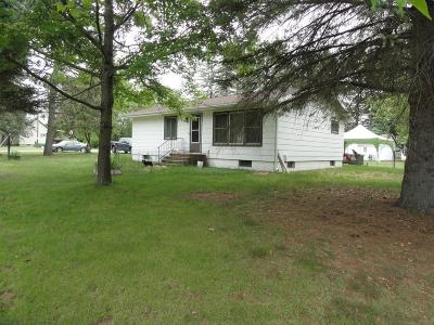 Tomahawk Single Family Home Active Under Contract: W5895 Muskellunge Lk Rd