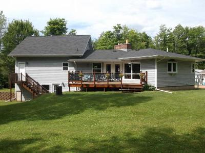 Fifield WI Single Family Home For Sale: $337,000