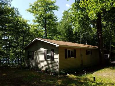 Lac du Flambeau WI Single Family Home For Sale: $144,900