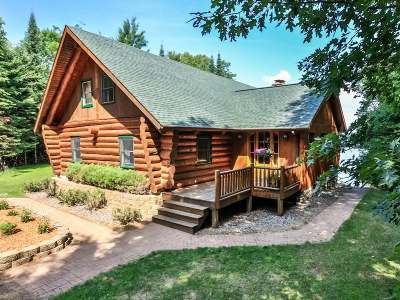 St. Germain WI Single Family Home For Sale: $849,000