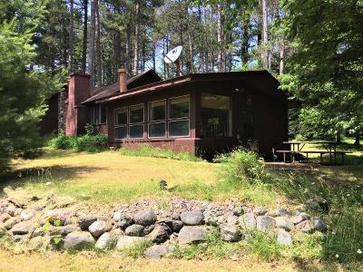 Lac Du Flambeau WI Single Family Home For Sale: $424,700
