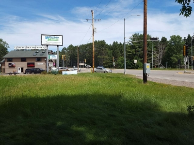 Eagle River Commercial For Sale: On Hwy 70