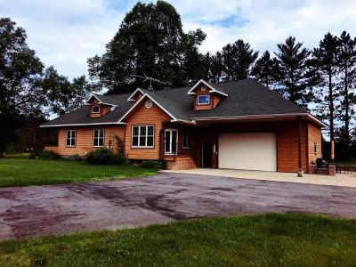 Tomahawk Single Family Home For Sale: N11228 Mud Lake Rd