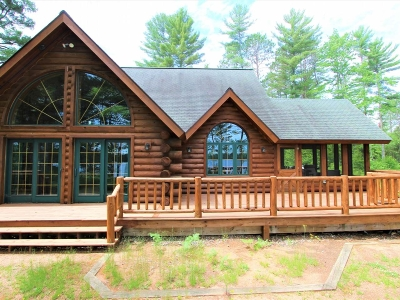 Lac Du Flambeau Single Family Home For Sale: 14880 Chequamegon Forest Tr