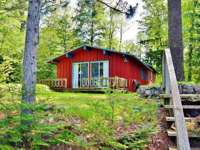 Lac Du Flambeau WI Single Family Home For Sale: $299,900
