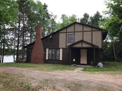Iron Wi County Single Family Home For Sale: 3987w Peninsula Rd