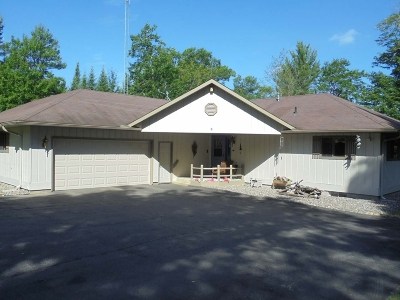 Eagle River Single Family Home Active O/C: 3021 Pine Island Lake Rd