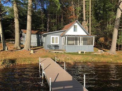 Forest County, Iron Wi County, Langlade County, Lincoln County, Oneida County, Vilas County Single Family Home For Sale: 4432 Deer Hill Dr