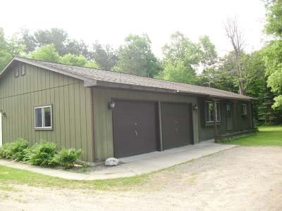 Tomahawk Single Family Home Active O/C: 2492 Point O Pines Rd