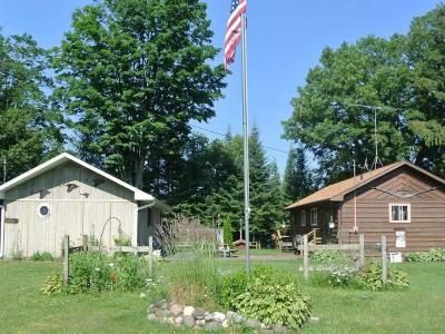 Lac Du Flambeau WI Single Family Home For Sale: $325,000
