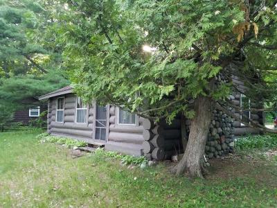 Lac Du Flambeau Single Family Home For Sale: 12341 Adventures Camp Ln