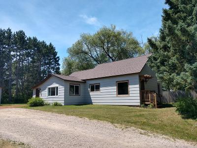 Tomahawk WI Single Family Home For Sale: $124,900