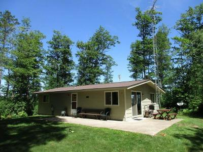 Manitowish Waters Single Family Home For Sale: 12816 Red Maple Rd