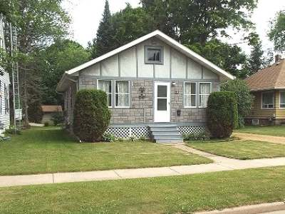 Antigo WI Single Family Home For Sale: $48,500