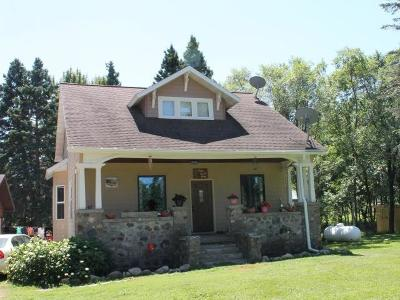 Tomahawk WI Single Family Home For Sale: $150,000