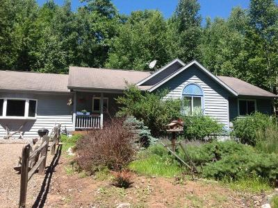 Minocqua Single Family Home For Sale: 8553 Sutton Rd