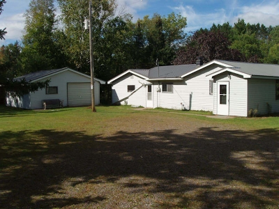 Fifield Single Family Home For Sale: W6978 Hwy 70