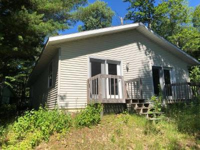 Forest County, Iron Wi County, Langlade County, Lincoln County, Oneida County, Vilas County Single Family Home For Sale: 7956 West Pine Lake Rd