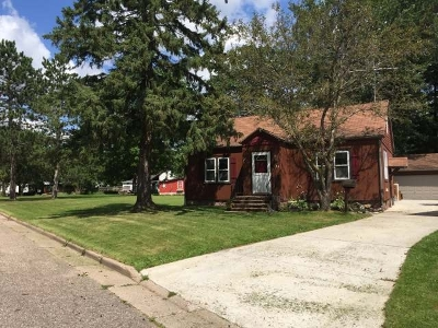 Antigo WI Single Family Home For Sale: $71,500