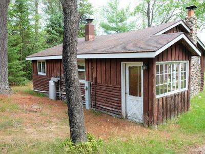 Forest County, Iron Wi County, Langlade County, Lincoln County, Oneida County, Vilas County Single Family Home For Sale: 6364 Hunter Haven Rd