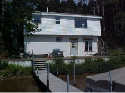 Lac Du Flambeau WI Single Family Home For Sale: $179,900