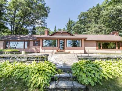 Lac Du Flambeau WI Single Family Home For Sale: $575,000