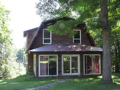 Forest County, Iron Wi County, Langlade County, Lincoln County, Oneida County, Vilas County Single Family Home For Sale: 4812w Cth Ff