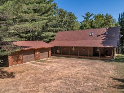 Eagle River WI Single Family Home For Sale: $329,000