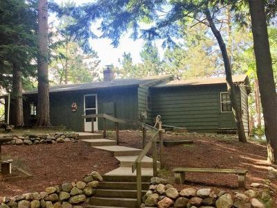 Three Lakes Single Family Home For Sale: 943 Olson Rd