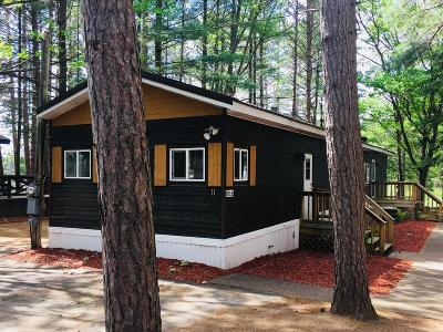 Minocqua Single Family Home For Sale: 8521 Hower Rd #11