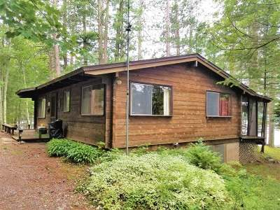 Minocqua Single Family Home For Sale: 8557 Rolling Bear Tr