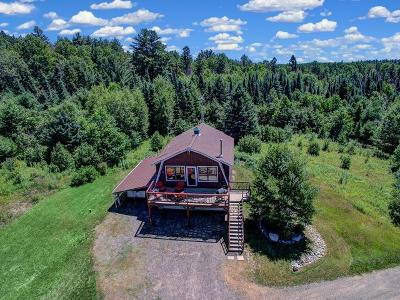 Forest County, Iron Wi County, Langlade County, Lincoln County, Oneida County, Vilas County Single Family Home For Sale: 9114 Cth A