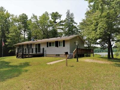 Forest County, Iron Wi County, Langlade County, Lincoln County, Oneida County, Vilas County Single Family Home For Sale: 1998 Rice Ln