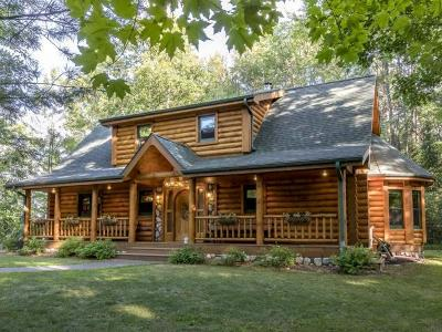 Eagle River Single Family Home For Sale: 3361 Hwy 70