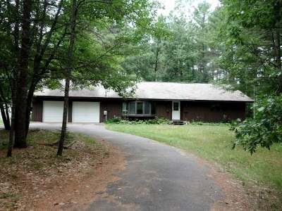 Minocqua Single Family Home Active O/C: 8801 Royalwood Dr