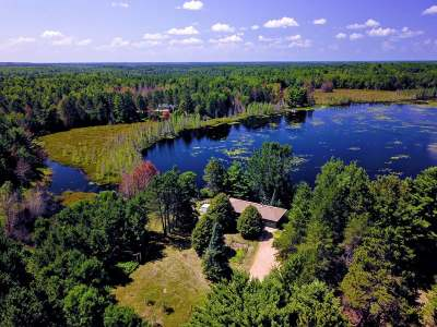 Forest County, Iron Wi County, Langlade County, Lincoln County, Oneida County, Vilas County Single Family Home For Sale: 3799 Mitchell Ln