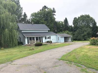 Deerbrook Single Family Home For Sale: N6002 Cth A