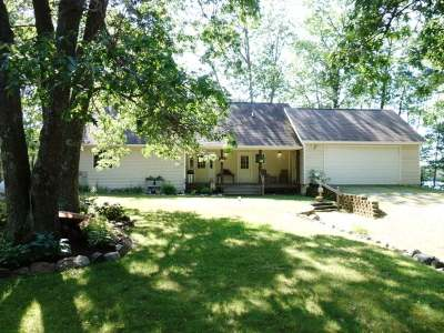 Lac Du Flambeau Single Family Home Active O/C: 1314 Indian Waters Ln