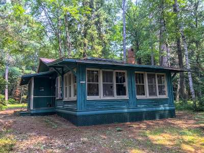 Oneida County, Lincoln County Single Family Home Active O/C: 2006 The Point Rd W